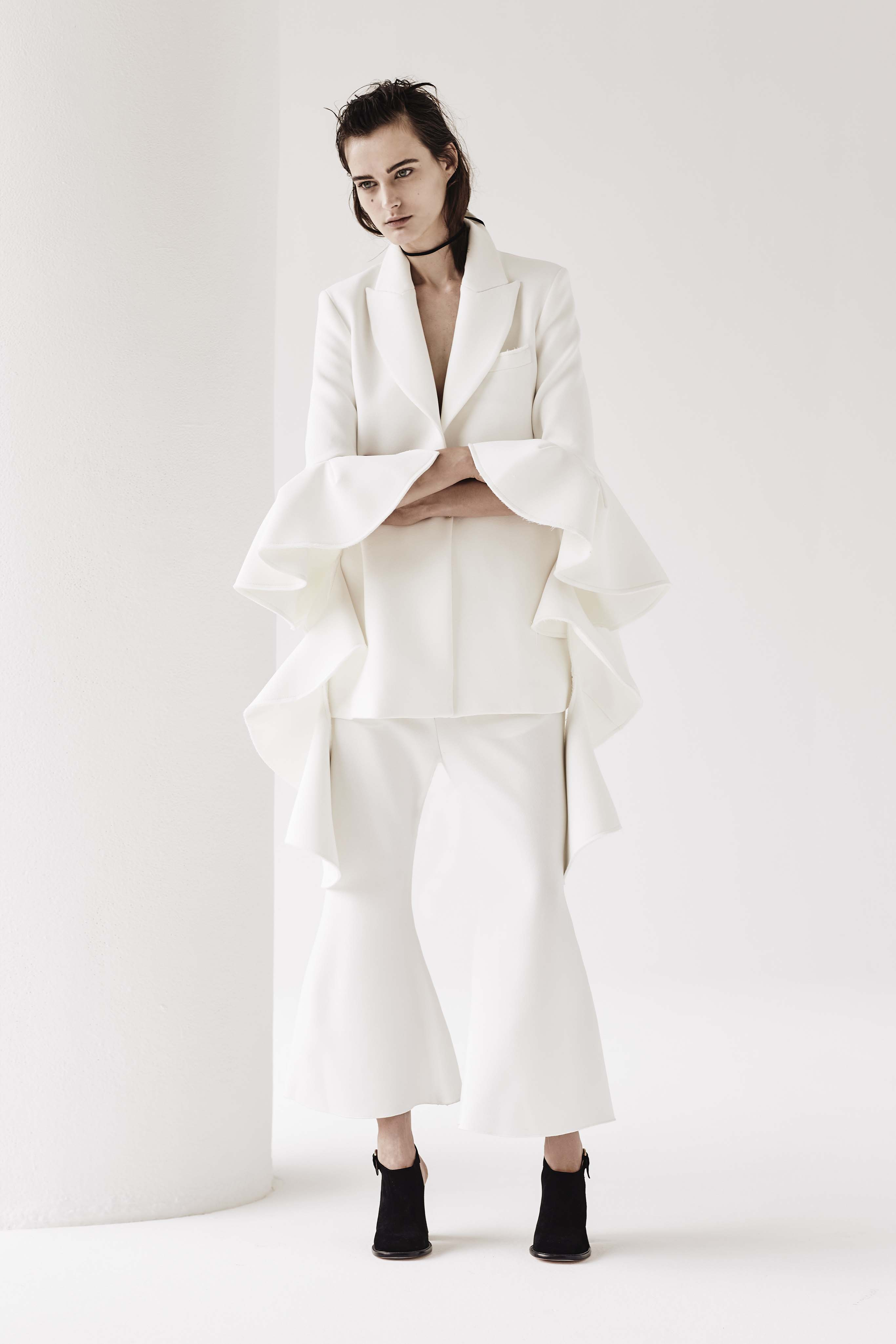 <p>Ruffles, bare shoulders and Ellery's signature flares reign this resort season.  </p>