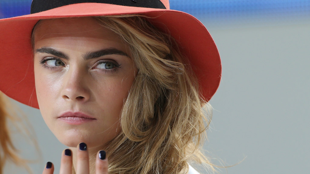 Cara Delevingne at the 67th Cannes Film Festival. (Getty)