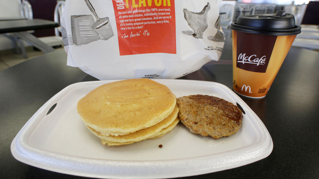 McDonald's launches all day breakfast in Australia