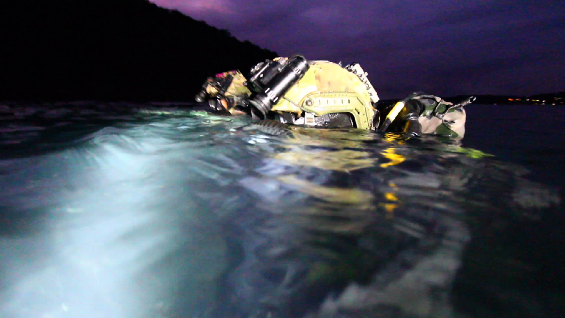 The men who are trained to be invisible: Meet Australia's navy clearance divers