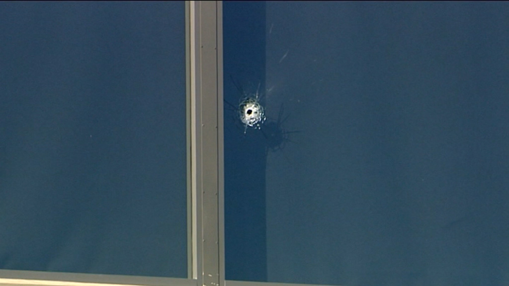 Police say no one else is being sought over the shootings. (9NEWS)