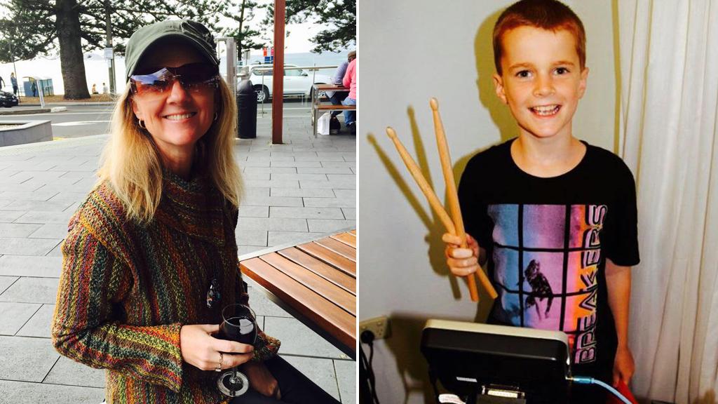 Jilly Pilon and late son Banjo. (Facebook)