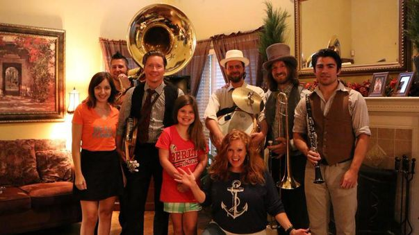 Dixieland Jazz Band Wakes Daughter Up For School