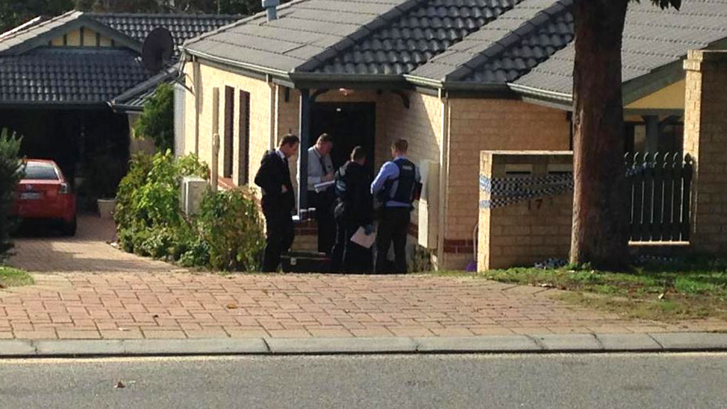 Investigators at the scene this morning. (9NEWS)