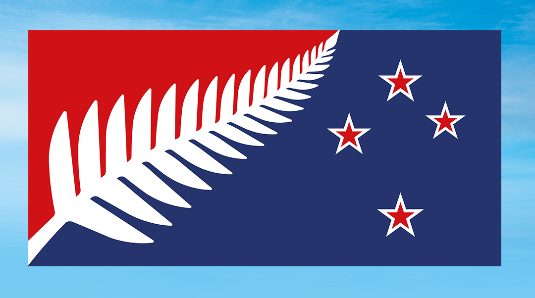 The runner-up alternative version of the Silver Fern.