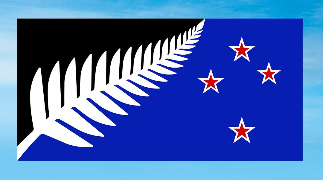 NZ flag referendum: Silver Fern wins first stage