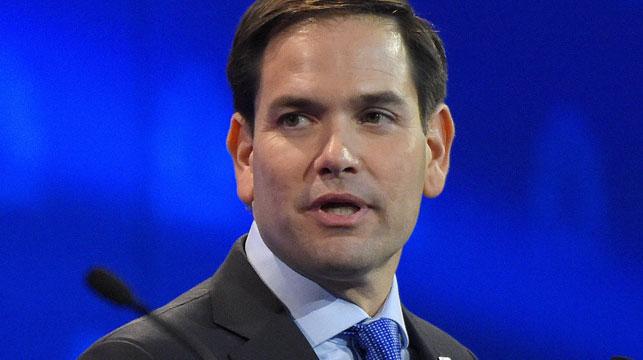 Florida senator Marco Rubio. (AAP)