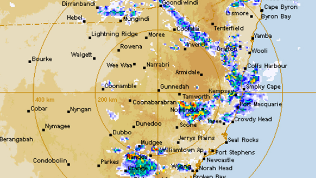 Severe storms set to sweep NSW Mid-North Coast and Central Tablelands