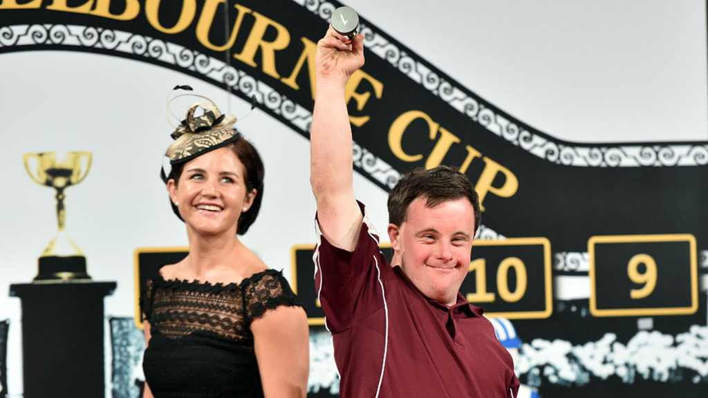 Strapper Stevie picked barrier one. (AAP)
