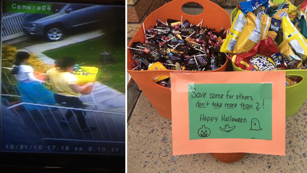 US police investigating spooky spate of Halloween candy thefts