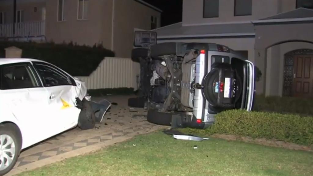 The Kingsall Road crash. (9NEWS)