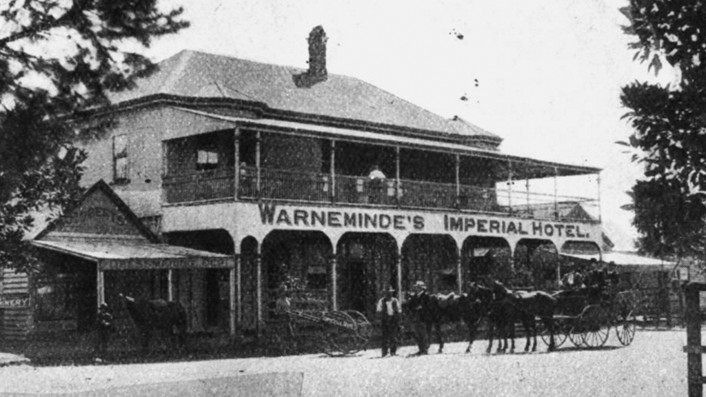 The Imperial Hotel in 1906. (State Library of Queensland)