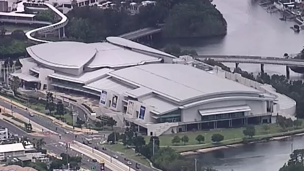 The Gold Coast Convention Centre. (9NEWS)