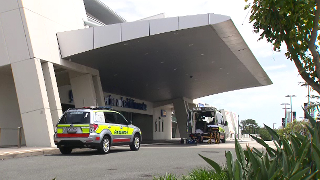 Paramedics were called to the centre. (9NEWS)