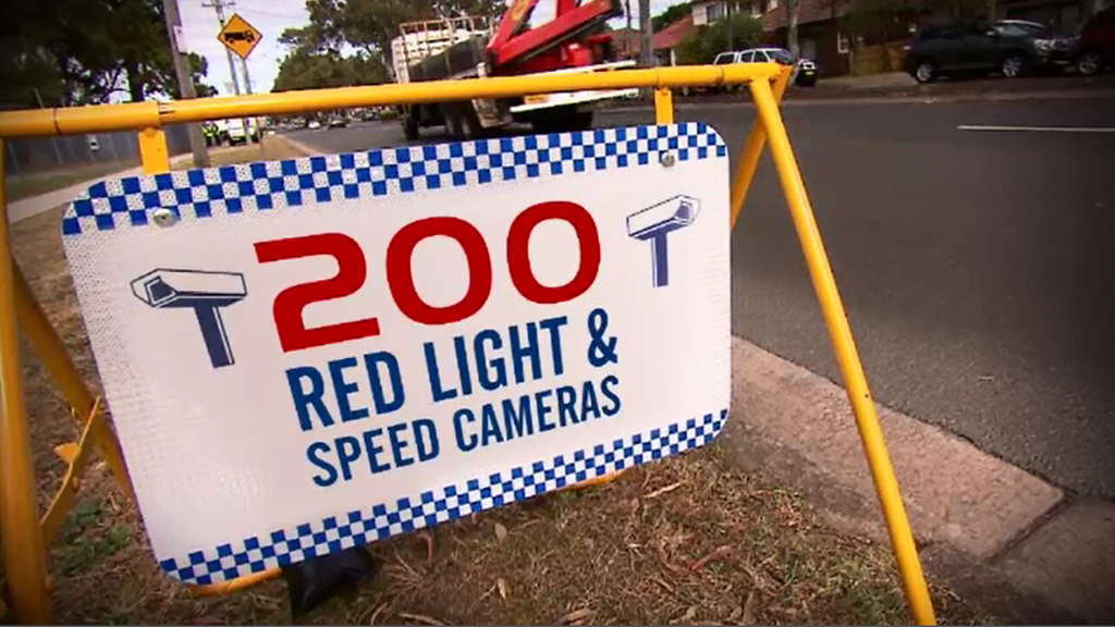 Hundreds of speed cameras have been installed since 2010. (9NEWS)