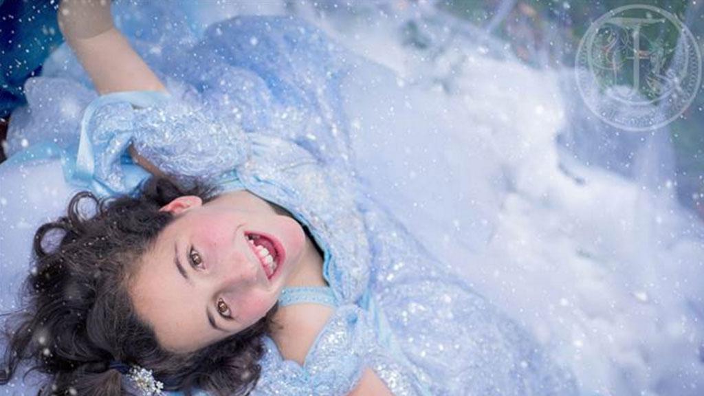 13-year-old Lexi Haas has kernicterus, brain damage caused by her newborn jaundice. (Heather Larkin/Fairyography)