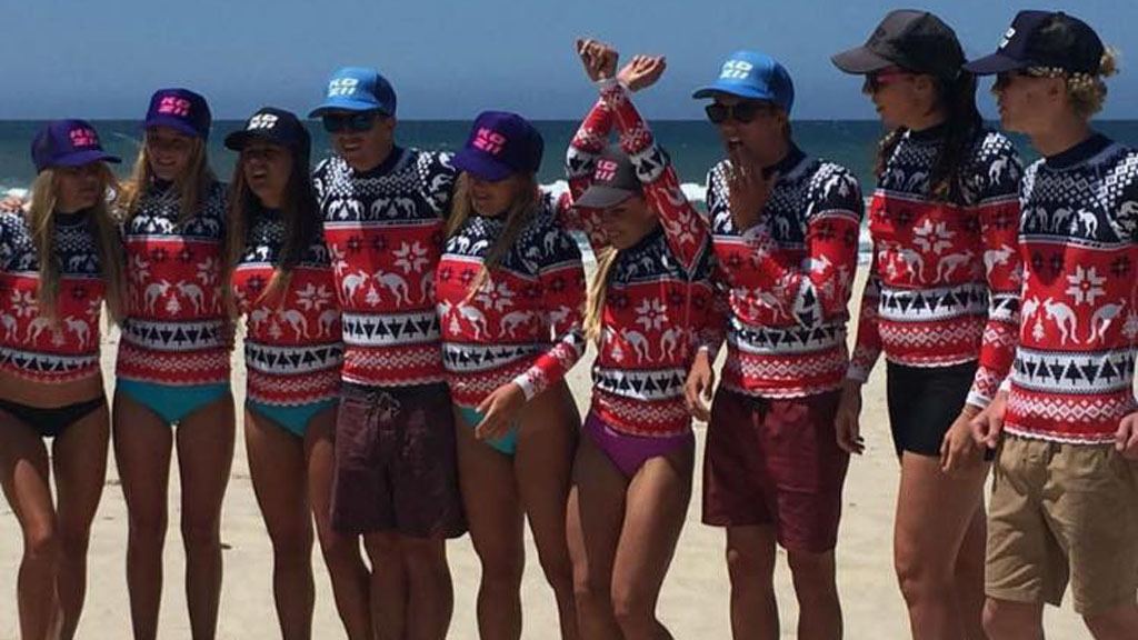 All the profits made through the sale of the rash vest will go to the Cancer Council Queensland to fight skin cancer. (Kozii Swimwear)