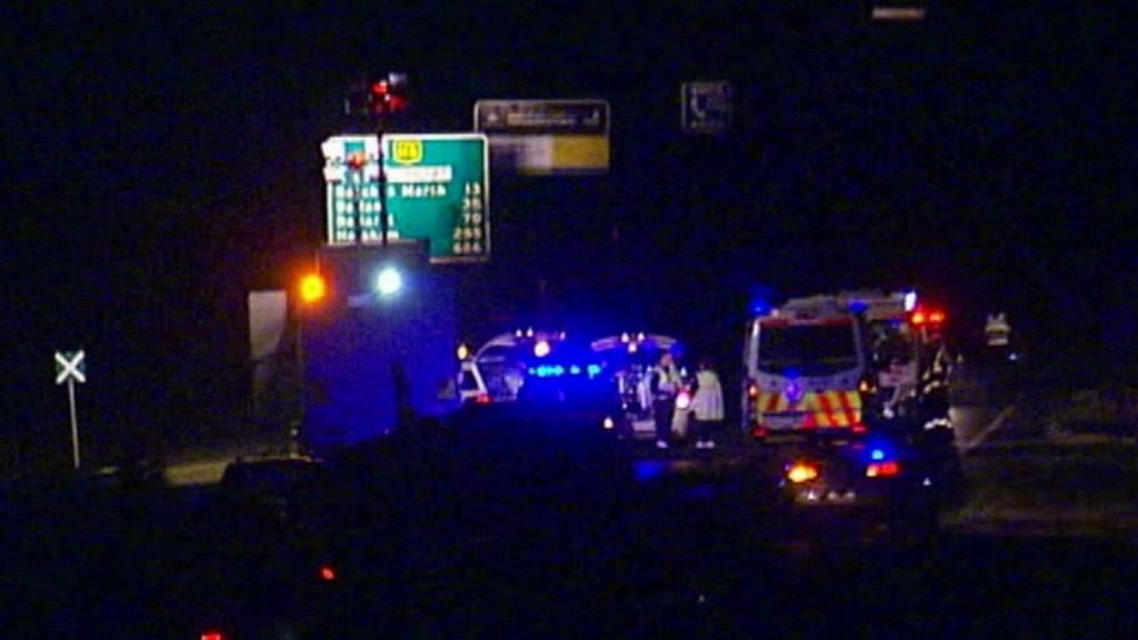 Melbourne teen critical after being hit by car while crossing highway