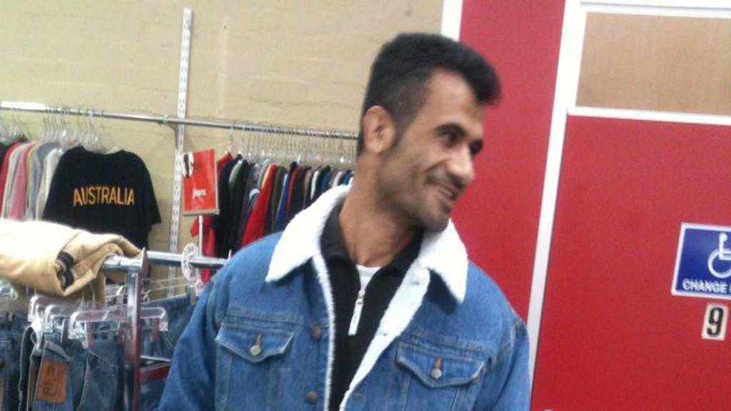 Fazel Chegeni was found dead outside the centre yesterday. (Supplied)