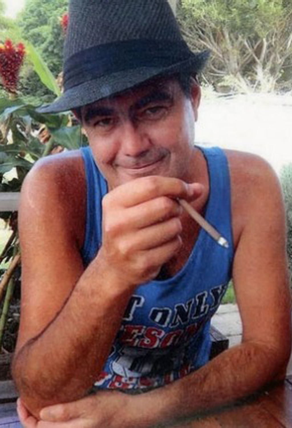 Robbie Parry, 41, was allegedly shot with a .22 sawn-off rifle in March this year. (Supplied)