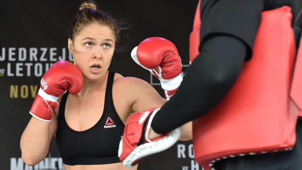 UFC fighter Ronda Rousey. (AAP)