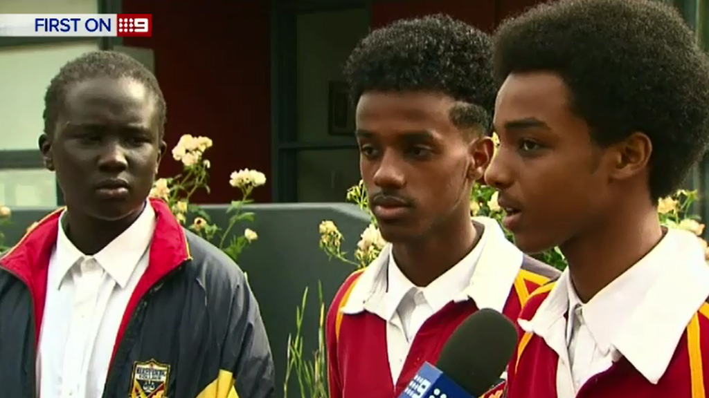 The students told 9NEWS they believe they were racially targeted. (9NEWS)