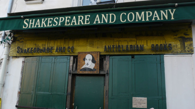 The iconic Shakespeare and Company bookshop in Paris is closed. (Jack Hawke, 9news.com.au)
