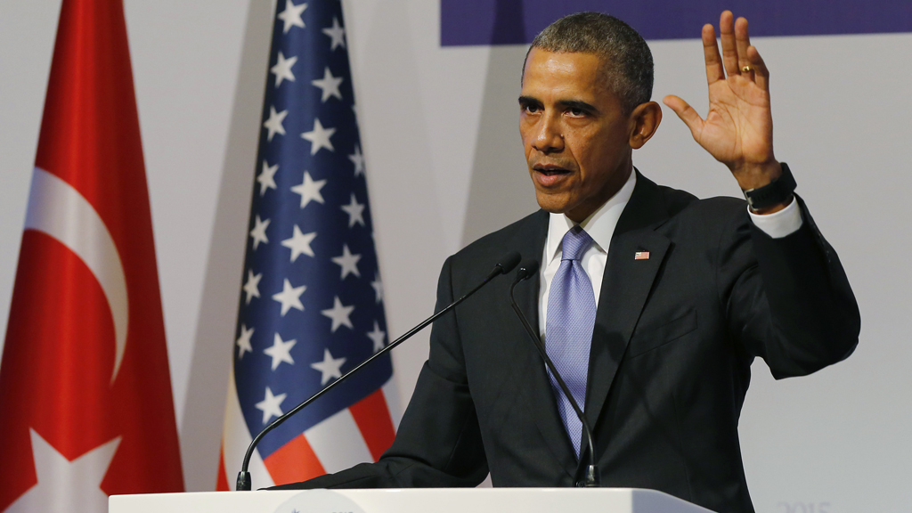 World leaders vow to unite against Syria in 'face of evil'