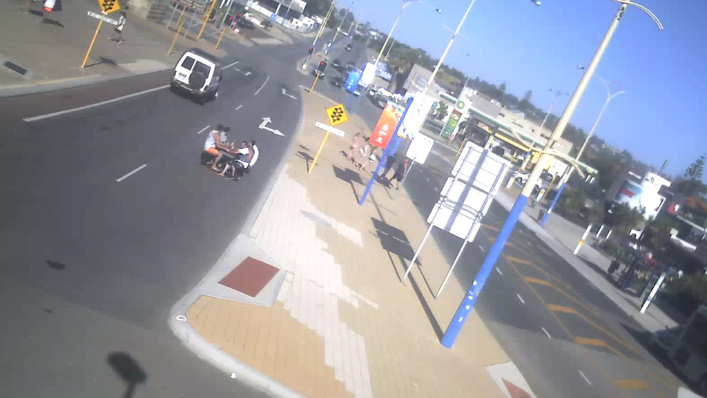Police are working closely with the City of Stirling to review CCTV footage to identify those involved. (Supplied)