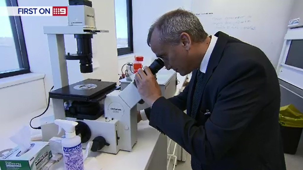 Researchers at the Charles Perkins Centre Nepean will work to identify a permanent cure. (9NEWS)