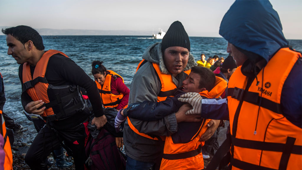 Nine dead as migrant boat capsizes off Greece