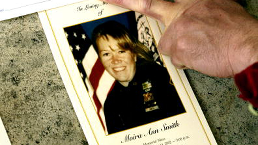 Moira Smith died after running into the south tower to help save people trapped inside. (Getty)