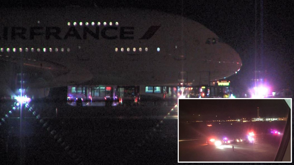 Two Air France flights diverted after security scares
