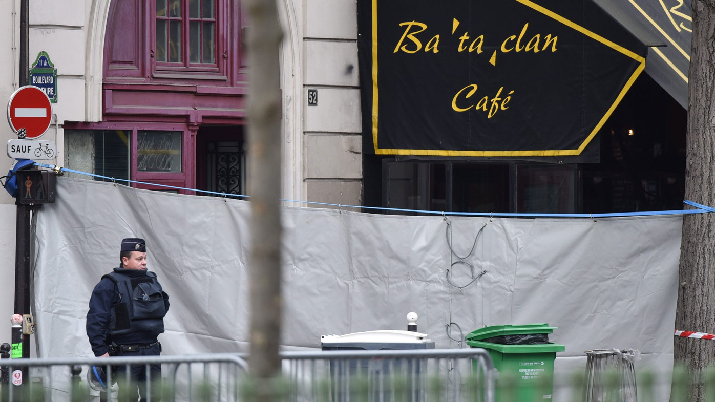 Suspicious mobile phone uncovered near Bataclan concert hall