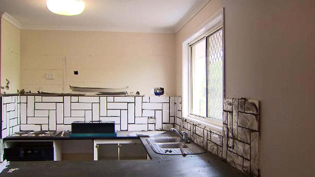 Ms Costin's kitchen. (9NEWS)