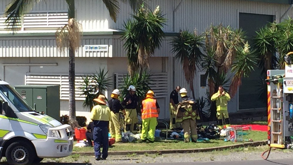 Workers assessed after Cairns chemical spill
