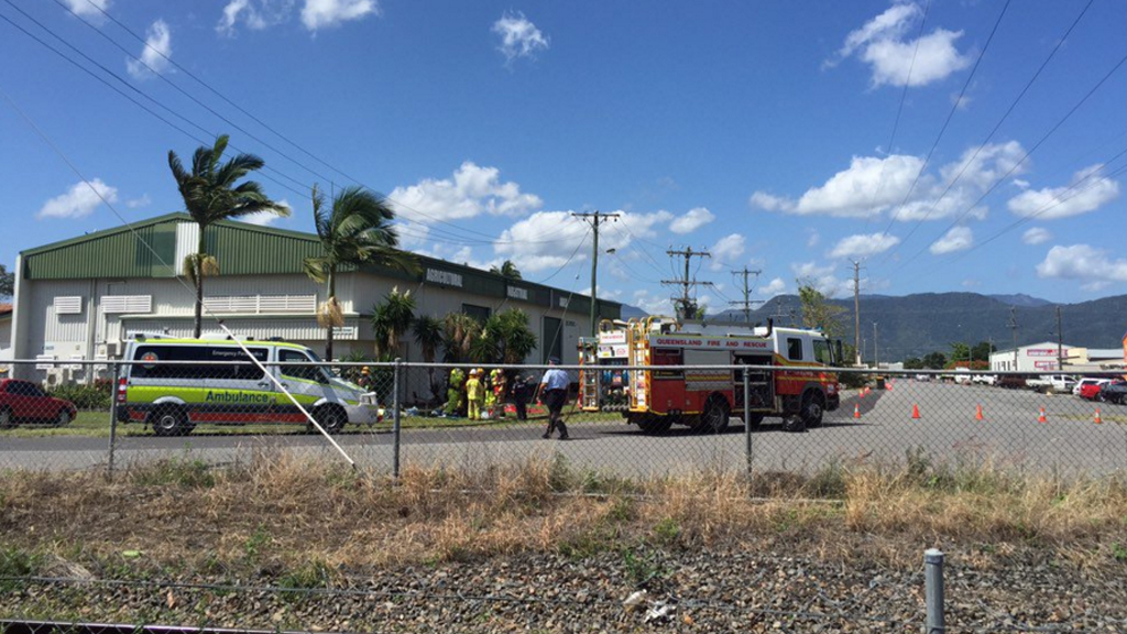 The accident happened in Portsmith, Cairns. (9NEWS)