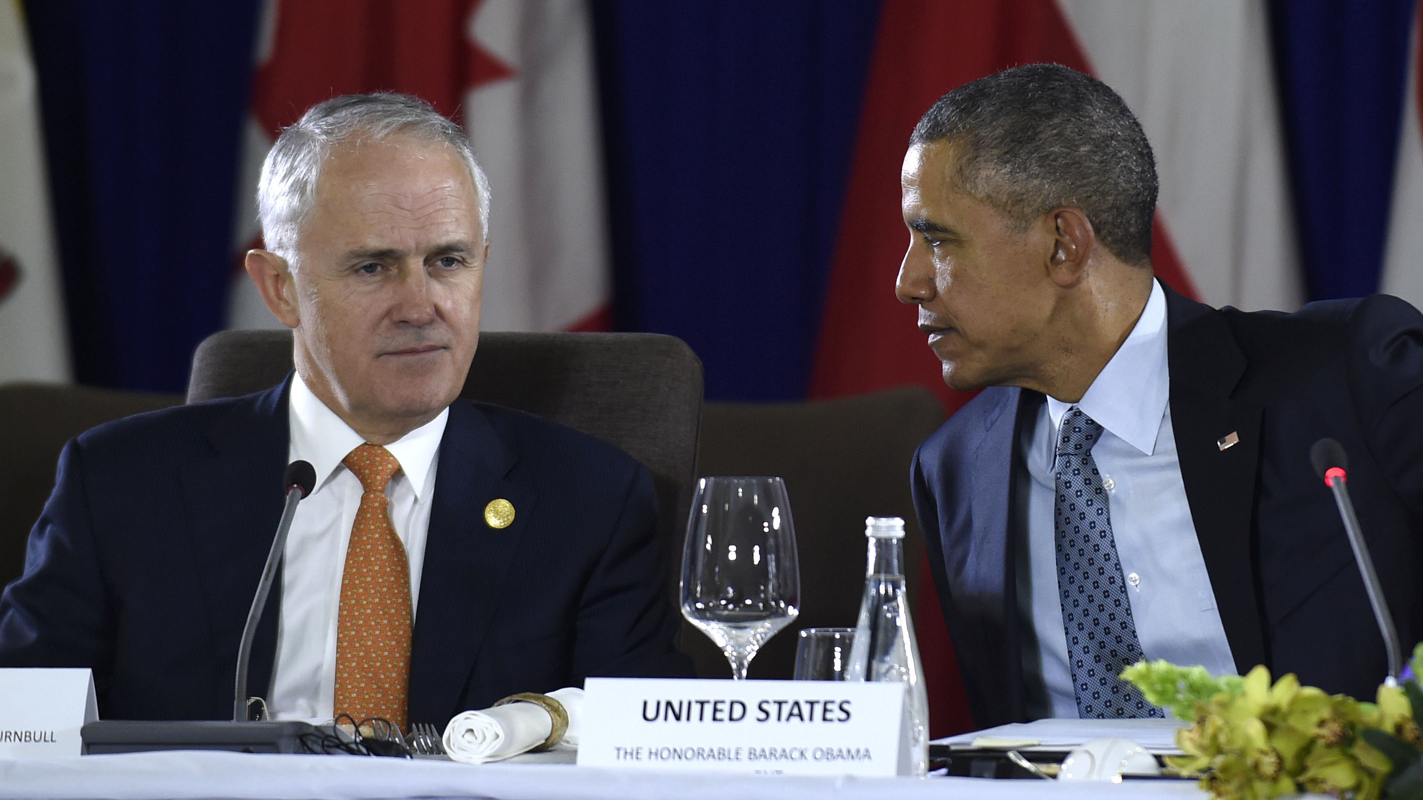 Obama jokes about Australia-New Zealand rivalry with Turnbull