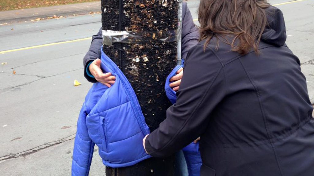 Young Canadian girl celebrates birthday by leaving coats around city for homeless people