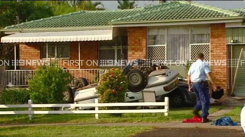Four in hospital after car crashes into northern NSW home