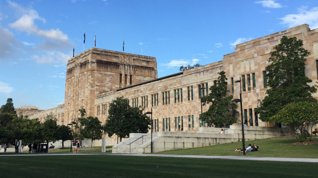 A University of Queensland law student allegedly hacked into the computer system.