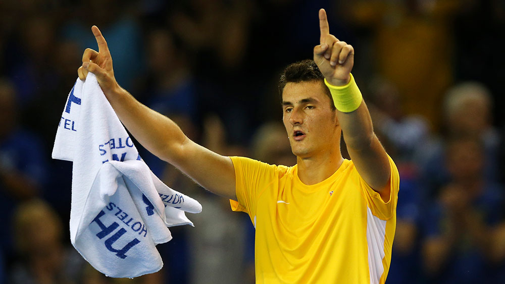 Bernard Tomic. (AFP)