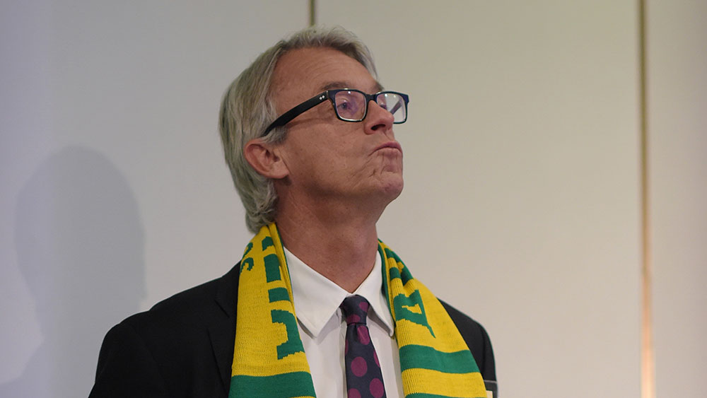 David Gallop. (AAP)