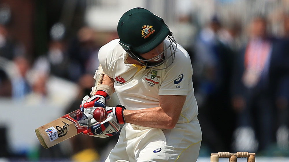 Chris Rogers was struck on the back of the head during the Ashes tour in England. (AAP)