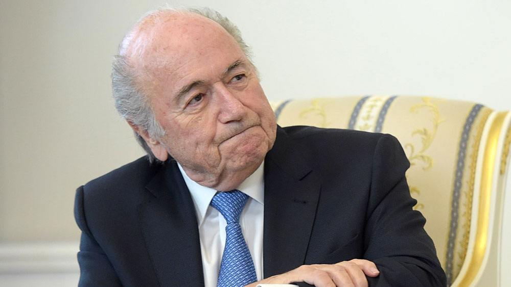Sepp Blatter. (Getty)