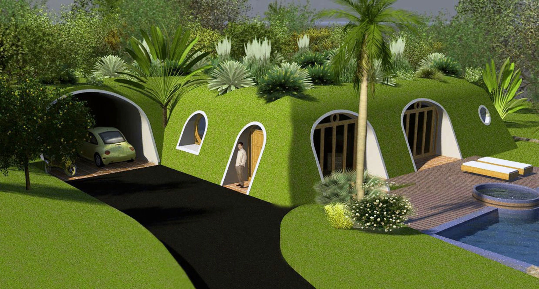 these prefabricated homes make living out your hobbit dreams a reality