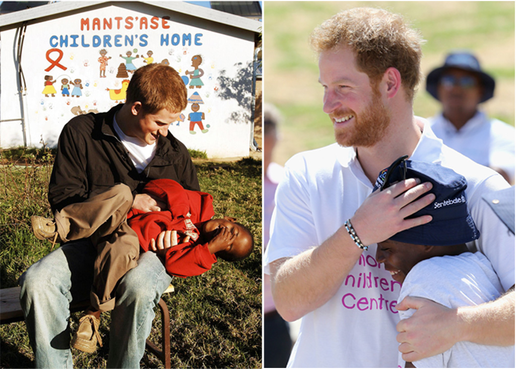Prince Harry and Mustu Postane instantly bonded in 2004.  The pair were reunited today in Lesotho.