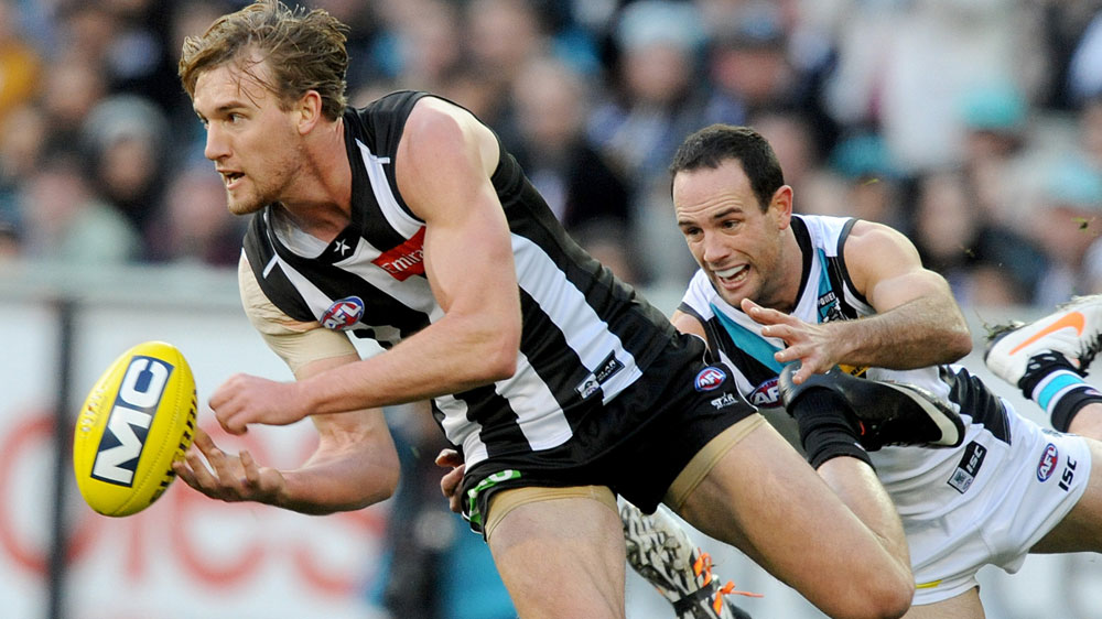 Magpie Lachie Keeffe (AAP)