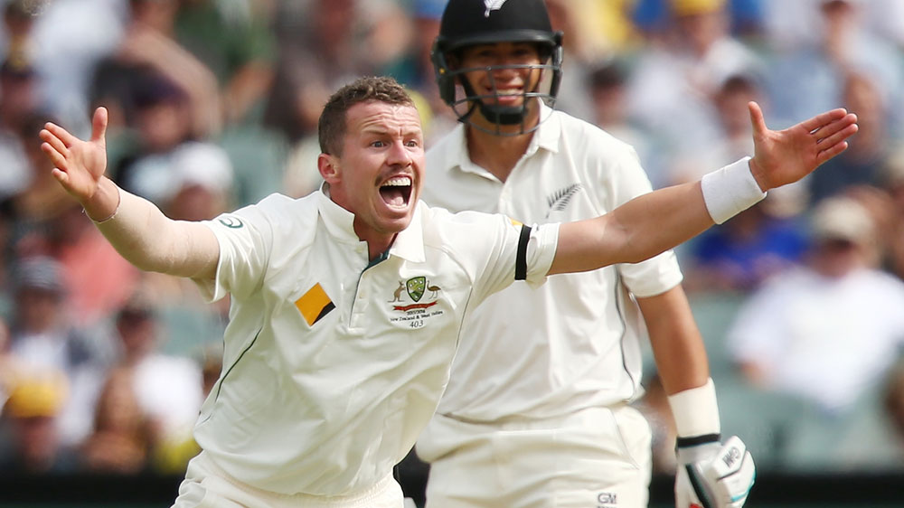Peter Siddle. (Getty)