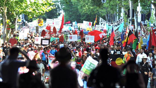 IN PICTURES: Thousands march for climate change in Sydney (Gallery)